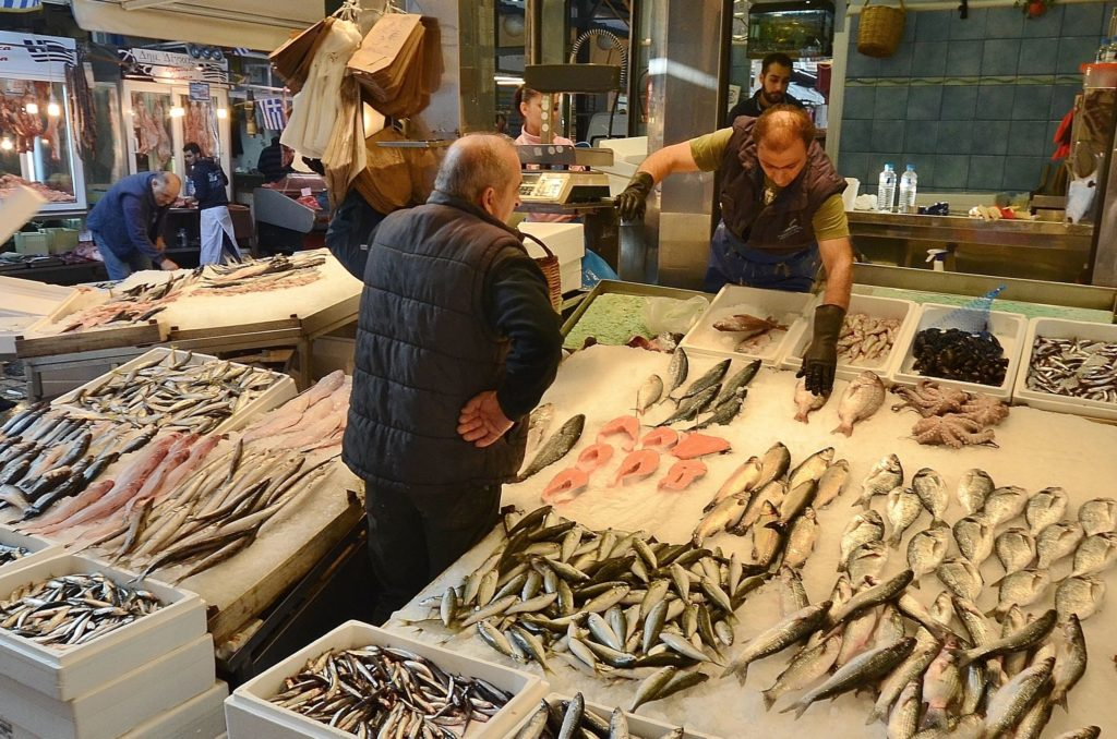 Fresh Seafood store